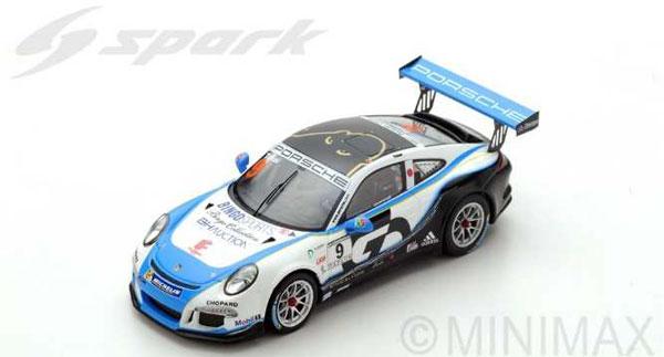 1/43 Porsche 911 GT3 Cup No.9 Porsche Carrera Cup Japan Champion 2017 Shinji Takei[スパーク]《09月仮予約》