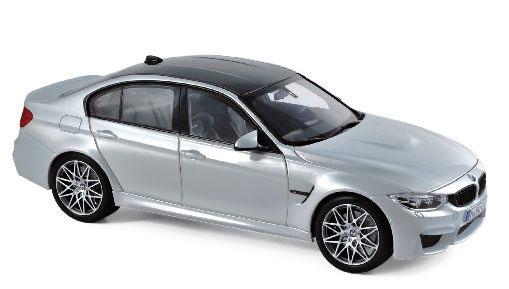 1/18 BMW M3 Competition 2017 シルバー[ノレブ]《10月仮予約》