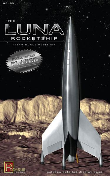 1/144 ルナロケット(シルバーメッキ仕様) プラモデル[ペガサスホビー]《08月予約※暫定》