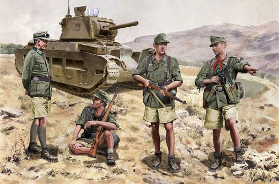 1/35 WW.II ドイツ軍 山岳猟兵 クレタ島占領作戦 1941 w/ディテールアップパーツ(装備品)[ドラゴンモデル]《07月予約※暫定》