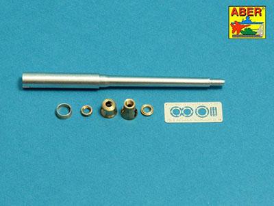1/35 独・ティガーI型後期用8.8cmKwk36砲身(トラペ)[アベール]《在庫切れ》