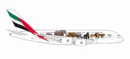"""1/500 A380 エミレーツ航空 """"United for Wildlife""""[ヘルパウイングス]《09月仮予約》"""