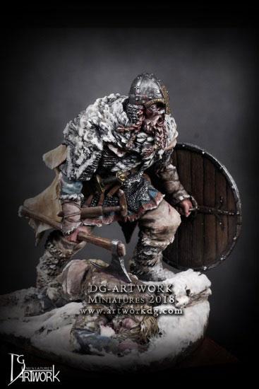 1/24 ヴァイキング戦士 ウルフハンター 組立キット[DGアートワーク社]《07月予約》