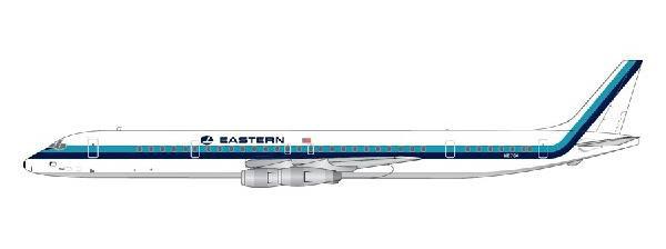 1/400 Gemini Jets イースタン航空 DC-8-61 N8764[ジェミニ]《在庫切れ》