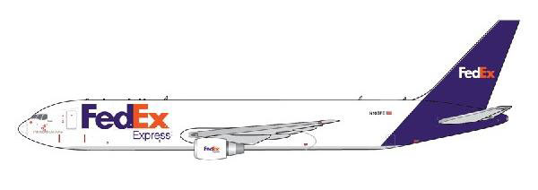 1/400 Gemini Jets FedEx(フェデックス エクスプレス) 767-300F N103FE[ジェミニ]《在庫切れ》