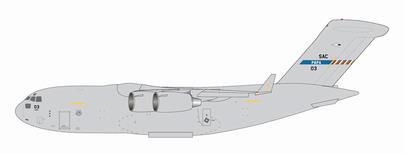 1/400 Gemini Macs C-17 NATO 戦略輸送航空団 SAC-03 パパ基地 ハンガリー[ジェミニ]《在庫切れ》