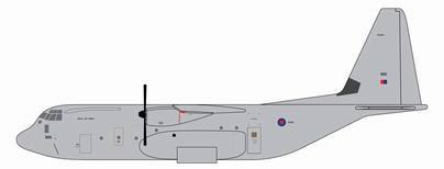 1/400 Gemini Macs C-130J イギリス空軍 ZH886[ジェミニ]《07月仮予約》