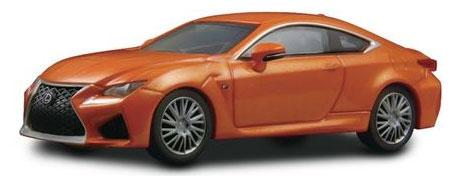 1/64 レクサス RC F -- オレンジ[京商]《発売済・在庫品》