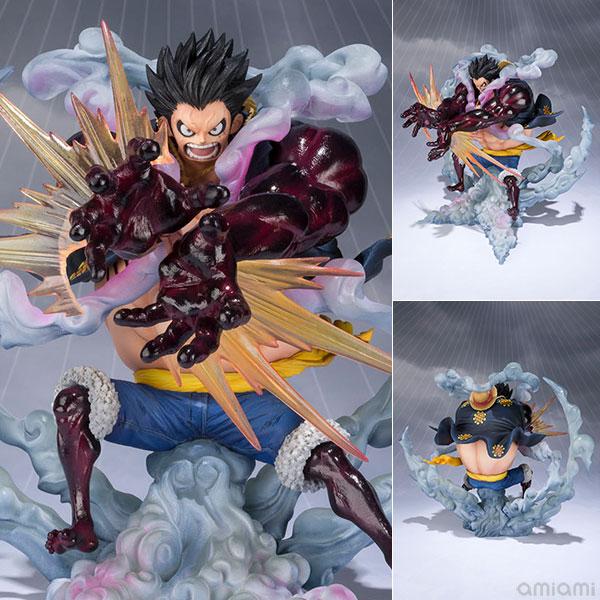 フィギュアーツZERO モンキー・D・ルフィ -ギア4-獅子・バズーカ - 『ワンピース』(再販)[BANDAI SPIRITS]《発売済・在庫品》