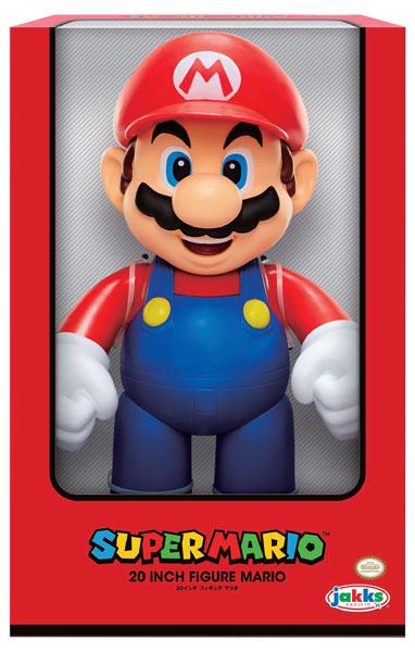 スーパーマリオ 20インチフィギュア マリオ(再販)[ジャックス・パシフィック]《04月仮予約》