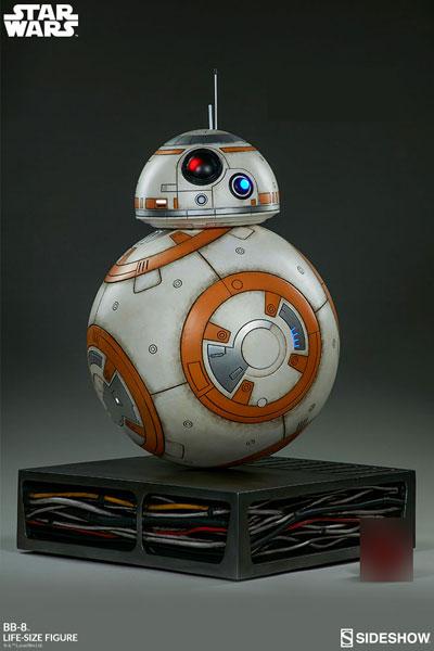 『スター・ウォーズ/フォースの覚醒』 等身大スタチュー BB-8