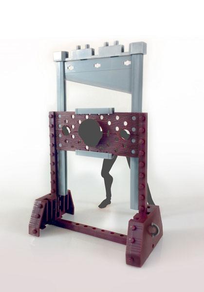 Love Toys Vol.6 断頭台 scaffold 1/12 未塗装 未組み立てキット(再販)[スカイチューブ]《在庫切れ》