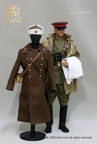 1/6 WWII 赤軍兵 シニア ルーテナント オフィサー セット 1942 (ドール用)
