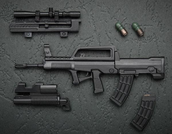 KM-031 1/12 95TYPE(95式自動小銃) プラモデル