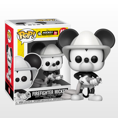 ポップ! 『ディズニー』「ミッキーマウス スクリーンデビュー90周年」ミッキーマウス(消防士版)