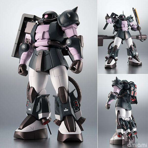 ROBOT魂 〈SIDE MS〉 MS-06R-1A 高機動型ザクII ver. A.N.I.M.E.~黒い三連星~[BANDAI SPIRITS]《01月予約》