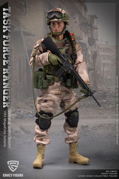 1/12 アメリカ陸軍 第75レンジャー連隊 タスクフォースレンジャー チョークリーダー 1993 ソマリア