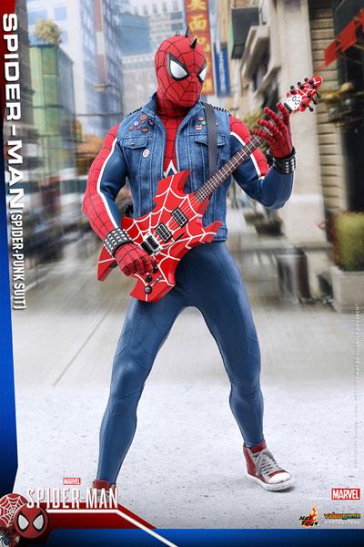ビデオゲーム マスターピース 1/6 スパイダーマン スパイダーパンクスーツ 延期前倒可能性大
