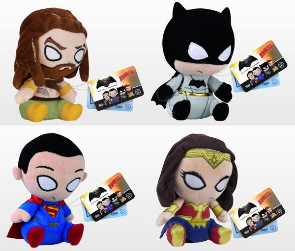 モーピーズ 『バットマン vs スーパーマン ジャスティスの誕生』4種セット