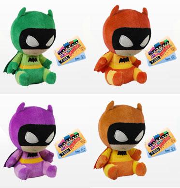 モーピーズ 『DCコミックス』バットマン(75週年アニバーサリー版)4種セット