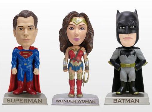 ワッキーワブラー 『バットマン vs スーパーマン ジャスティスの誕生』3種セット