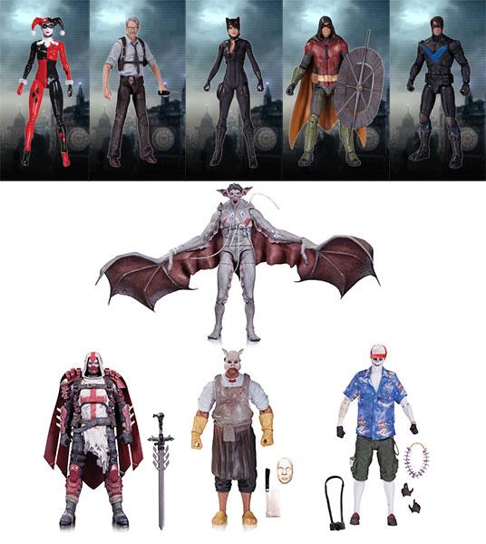 『バットマン:アーカム・ナイト』6インチDC アクションフィギュア 9種セット