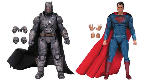 『バットマン vs スーパーマン』6インチDC アクションフィギュア 2種セット