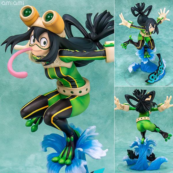 僕のヒーローアカデミア 蛙吹梅雨 ヒーロースーツVer. 1/8 完成品フィギュア[タカラトミー]《03月予約》