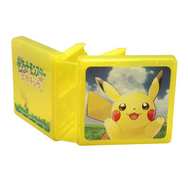 Nintendo Switch専用カードポケット24 ポケットモンスター Let's Go!ピカチュウ[マックスゲームズ]《在庫切れ》