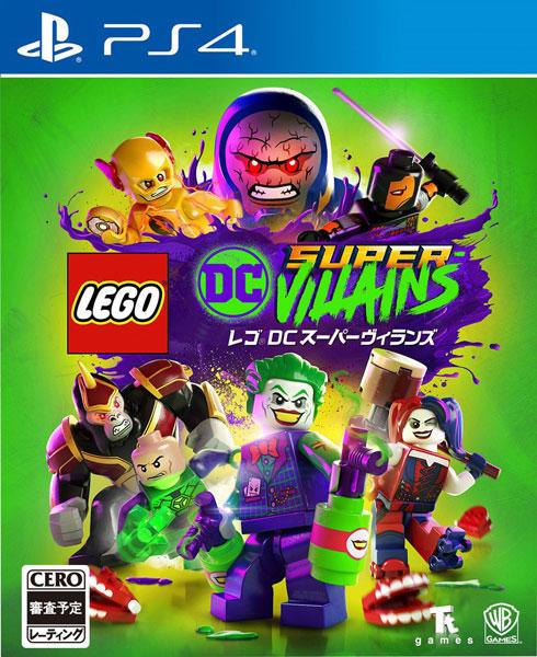 PS4 レゴ DC スーパーヴィランズ[ワーナーブラザースジャパン]《在庫切れ》