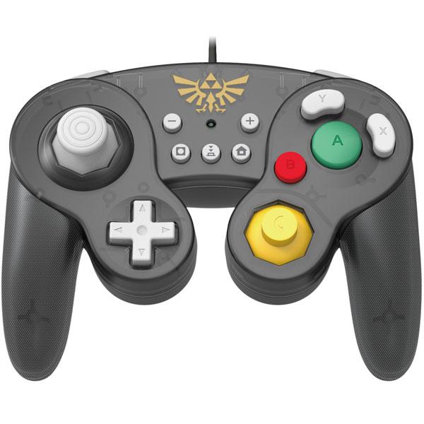 ホリ クラシックコントローラー for Nintendo Switch ゼルダの伝説[ホリ]《発売済・在庫品》