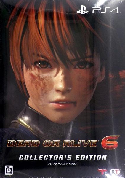 【特典】PS4 DEAD OR ALIVE 6 コレクターズエディション[コーエーテクモゲームス]《在庫切れ》
