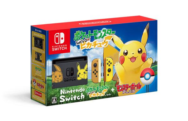Nintendo Switch ポケットモンスター Let's Go! ピカチュウセット(モンスターボール Plus付き)[任天堂]《在庫切れ》