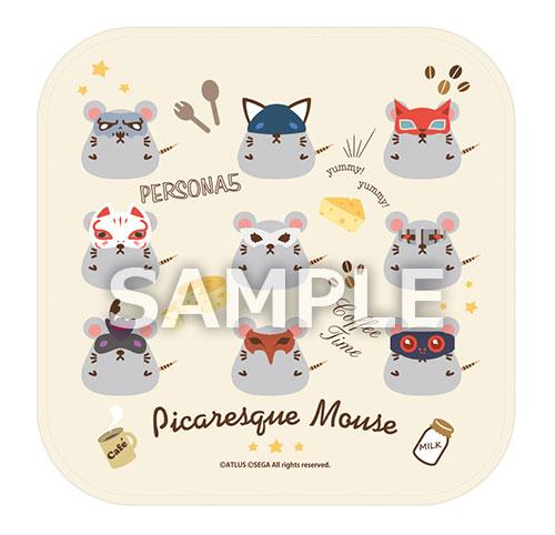 ペルソナ5 Picaresque Mouse ハンドタオル[エンターブレイン]《在庫切れ》