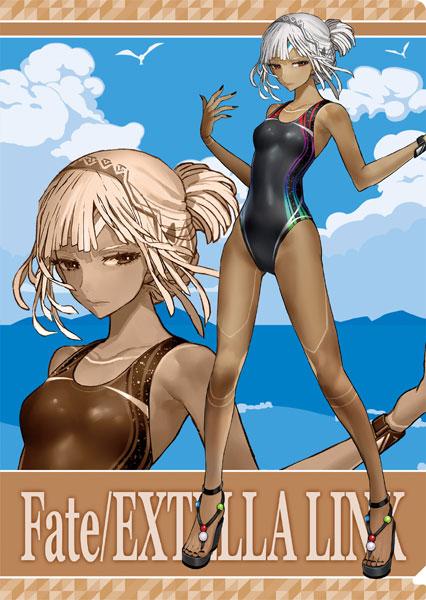 「Fate/EXTELLA LINK」 クリアファイル/アルテラ 水着[ムービック]《在庫切れ》
