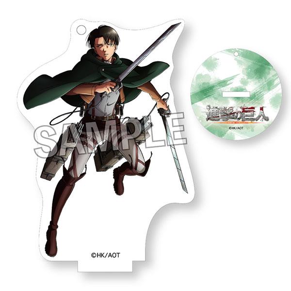 進撃の巨人 描き下ろし2018 スタンディングアクリルキーホルダー リヴァイ[PROOF]《在庫切れ》