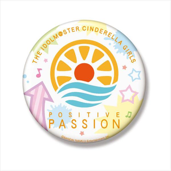 アイドルマスター シンデレラガールズ ユニットロゴ缶バッジ POSITIVE PASSION[Gift]《在庫切れ》