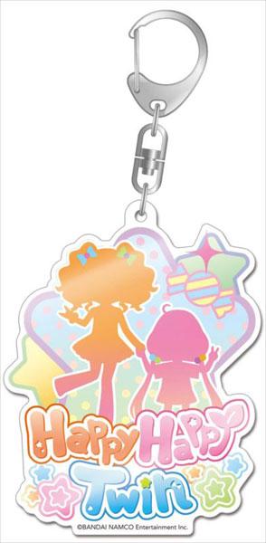 アイドルマスター シンデレラガールズ ユニットロゴデカアクリルキーホルダー Happy Happy Twin[Gift]《発売済・在庫品》