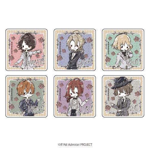 キャラアクリルバッジ「TVアニメ ニル・アドミラリの天秤」01/グラフアートデザイン 6個入りBOX[A3]《在庫切れ》