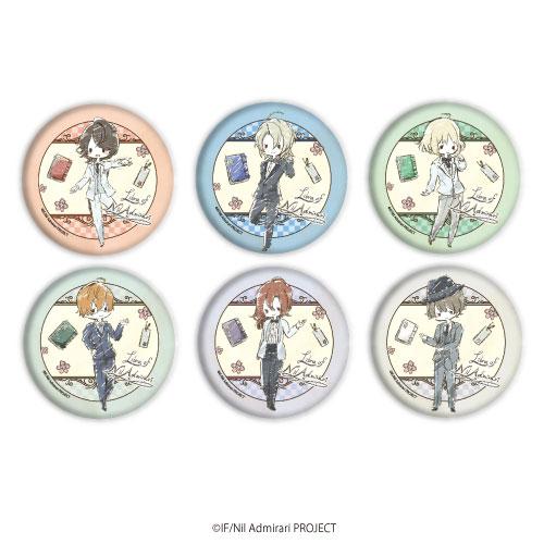 缶バッジ「TVアニメ ニル・アドミラリの天秤」01/グラフアートデザイン 6個入りBOX[A3]《在庫切れ》