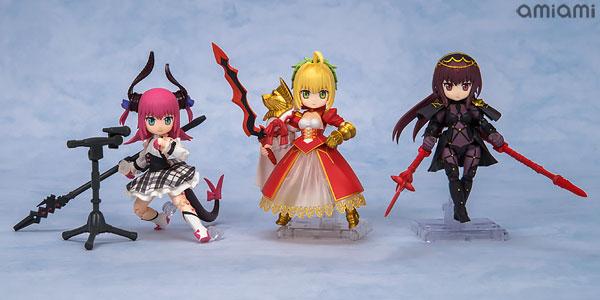 【特典】デスクトップアーミー Fate/Grand Order 第2弾 3個入りBOX(再販)[メガハウス]《発売済・在庫品》