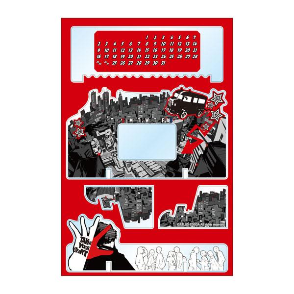 ペルソナ5 卓上アクリル万年カレンダー vol.2(再販)[アルマビアンカ]《在庫切れ》