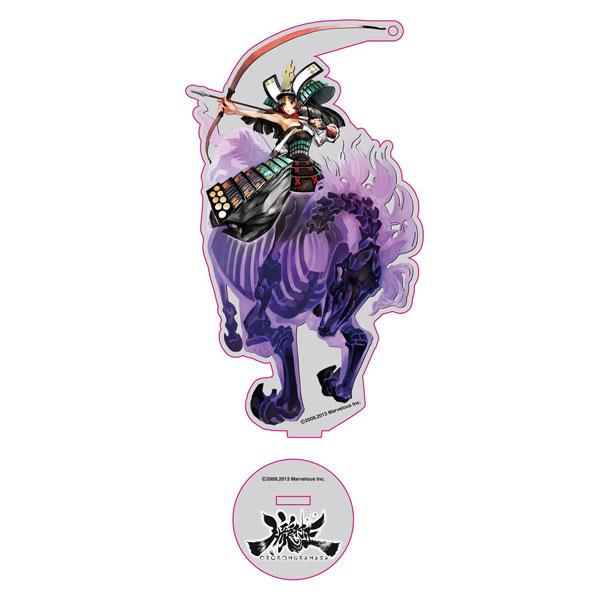【限定販売】朧村正 虎姫 アクリルスタンドキーホルダー[フレア]《発売済・在庫品》