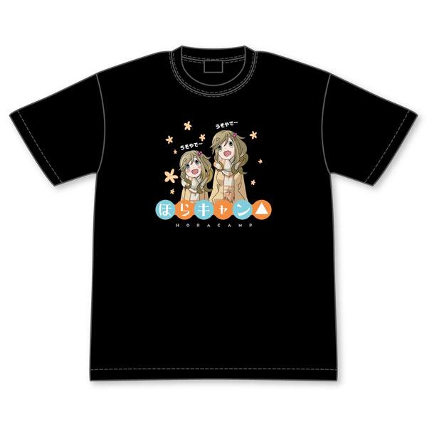 ゆるキャン△ 犬山姉妹のほらキャン△Tシャツ L[グルーヴガレージ]《取り寄せ※暫定》
