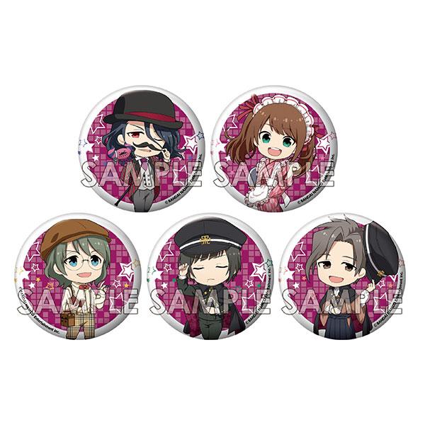えふぉるめ アイドルマスター SideM キメっ!と缶バッジ 「レトロ喫茶歌謡」 5個入りBOX[エフドットハート]《在庫切れ》