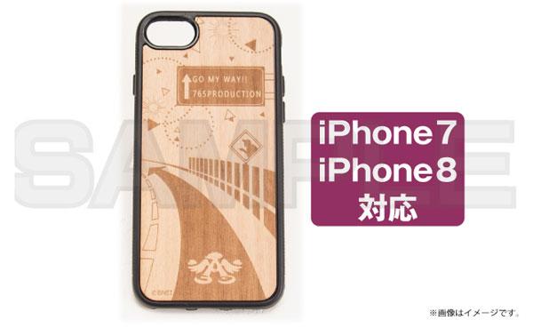 アイドルマスター 765プロダクション iPhoneウッドケース for iPhone7 / 8[あみあみ]【送料無料】《発売済・在庫品》