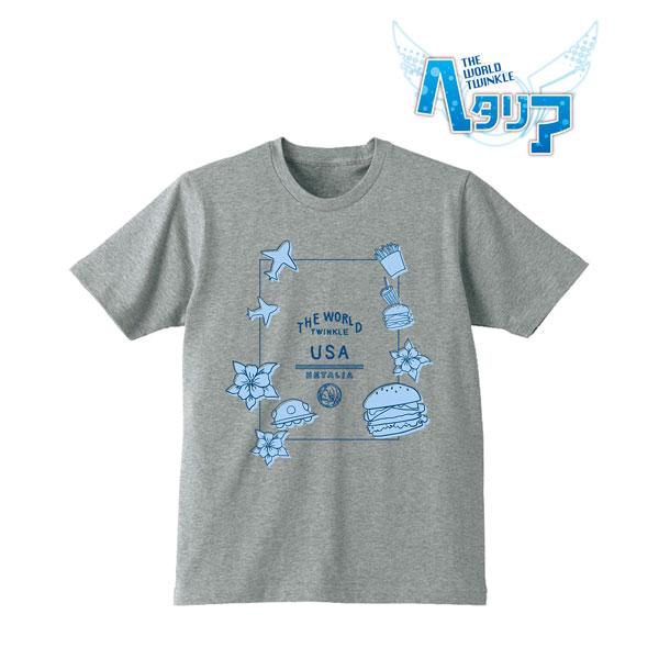 ヘタリア The World Twinkle Tシャツ(アメリカ)/レディース(サイズ/XL)[アルマビアンカ]《在庫切れ》