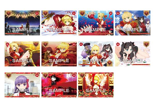 Fate/EXTRA Last Encore ビジュアルクリアカードガム 20個入りBOX (食玩)[エンスカイ]《10月予約》