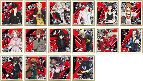 PERSONA5 the Animation ビジュアル色紙コレクション 16個入りBOX[エンスカイ]《在庫切れ》