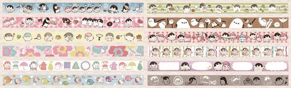 コウペンちゃん マスキングテープコレクション 12個入りBOX[エンスカイ]《在庫切れ》